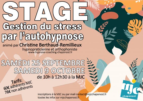 Gestion du stress par l'autohypnose